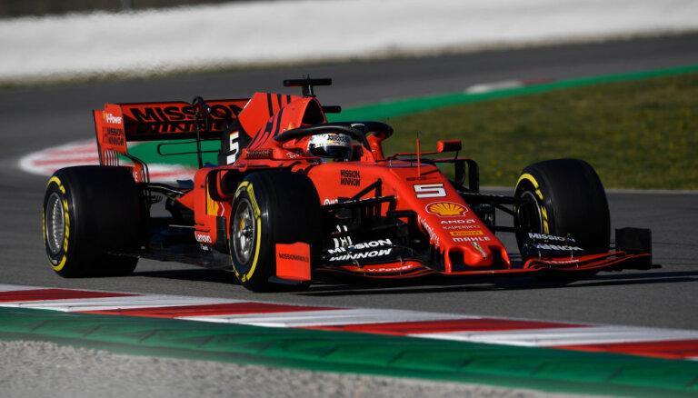 'Ferrari' Austrālijā startēs bez 'Philip Morris' meitasuzņēmuma logo