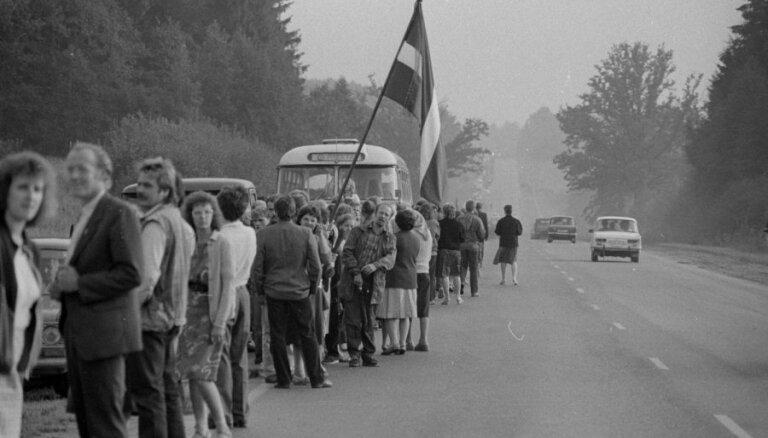 Балтийскому пути — 30. Встреча премьеров Балтии, флаги и метал-опера на Луцавсале
