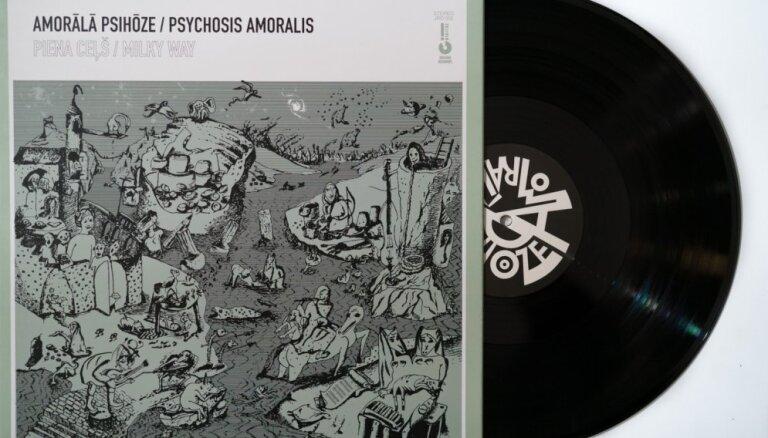 'Amorālā psihōze' prezentēs jaunāko albumu 'Piena ceļš'