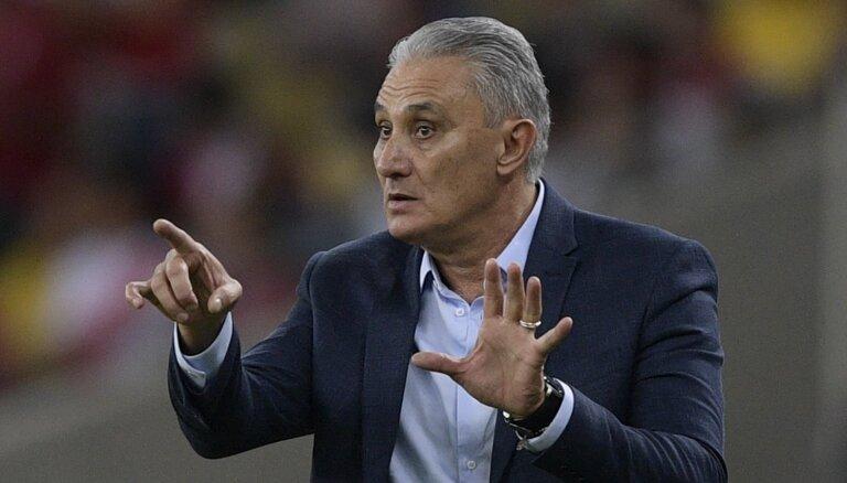 Brazīlijas futbola izlases treneris Tite nosoda Mesi par necienīgiem izteikumiem