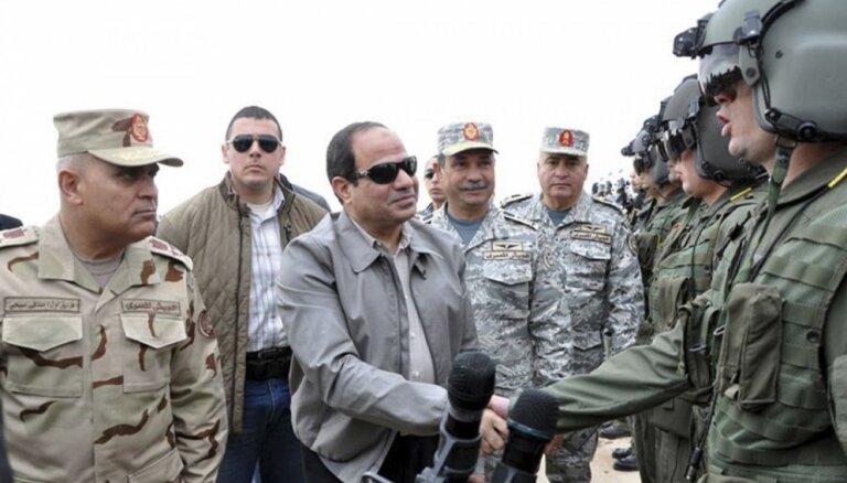 Sisi: aug nepieciešamība pēc vienotiem arābu spēkiem