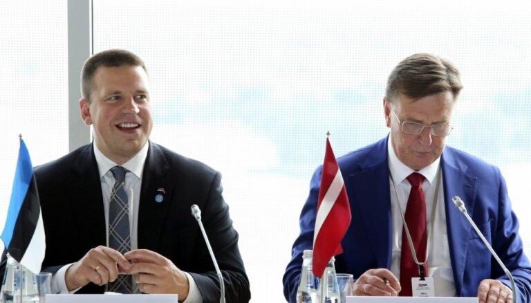 Kučinskis uzteic sadarbību starp Latviju un Igauniju