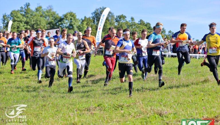 Noslēdzies Latvijas čempionāts orientēšanās sportā vidējā distancē un stafetē