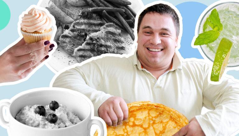 Viktors Ščerbatihs par svarcēlāja ēdienkarti, rīšanu un šodienas uzturu