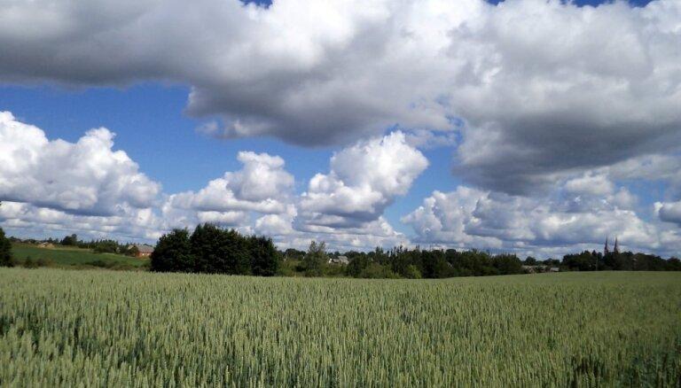 В воскресенье будет облачно