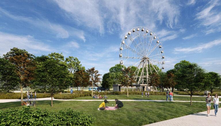 Проект 65-метрового панорамного колеса в Риге столкнулся со сложностями