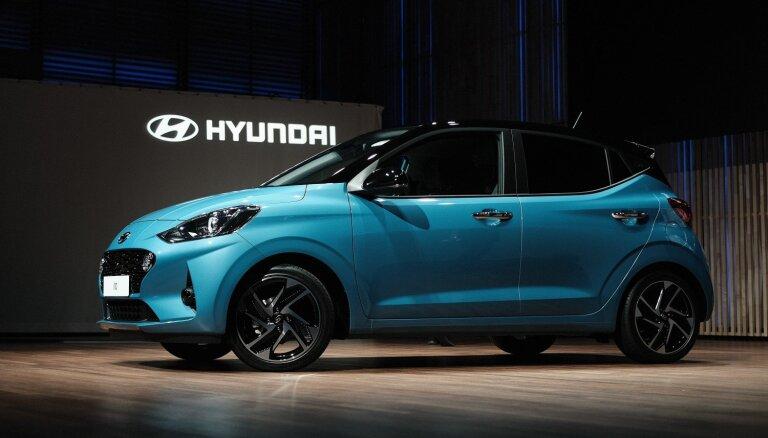 'Hyundai' parādījis savu vismazāko hečbeku 'i10'