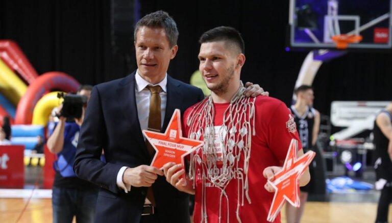 Lomažs finālčetrinieka vērtīgākais spēlētājs, piecniekā četri Latvijas klubu pārstāvji