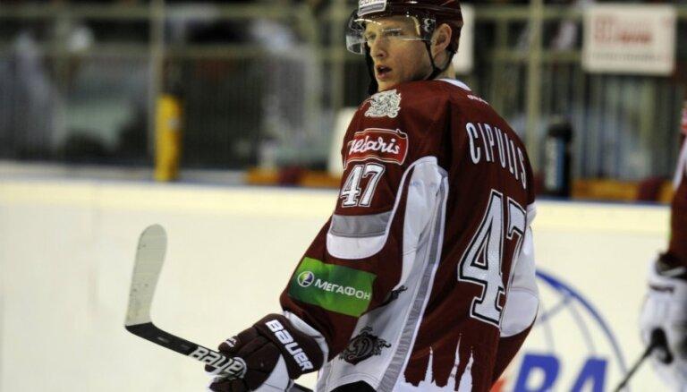 'Dinamo' komandas sastāvā uz Ņižņijnovgorodu devušies arī Ņiživijs un Cipulis