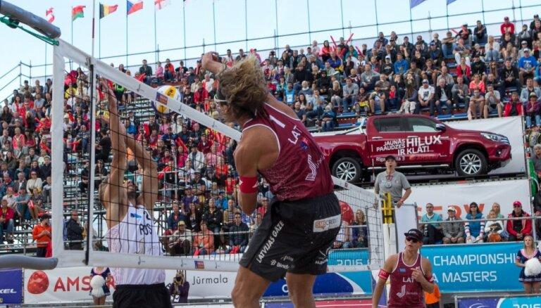 LVF nonākusi soļa attālumā no Pasaules tūres pludmales volejbolā posma rīkošanas