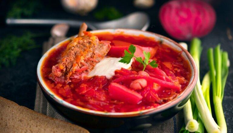 Украинский борщ занял третье место в рейтинге самых вкусных супов мира