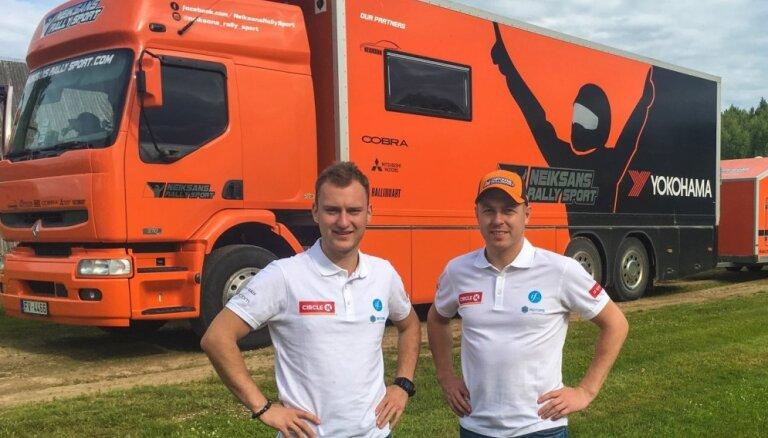 Nitišs 'World RX' čempionāta pārtraukumu izmantos startam 'Rallijā Latvija'