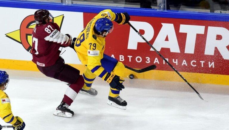 Forsbergs: spēle pret Latviju bija tieši tik smaga, kā mēs gaidījām