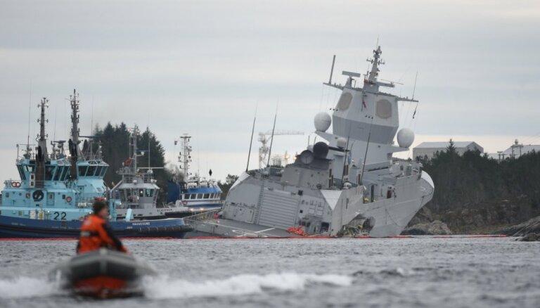Российское судно подало сигнал SOS у берегов Норвегии (дополнено)