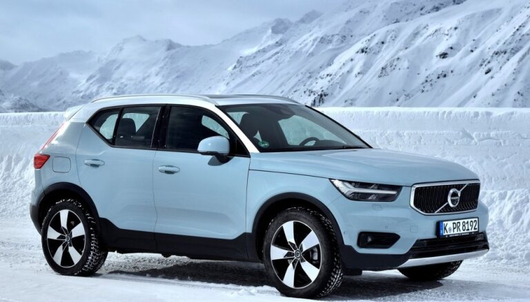Par 'Eiropas Gada auto 2018' atzīts 'Volvo XC40' apvidnieks