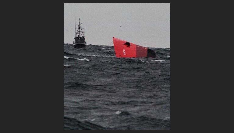 У берегов Швеции столкнулись два судна