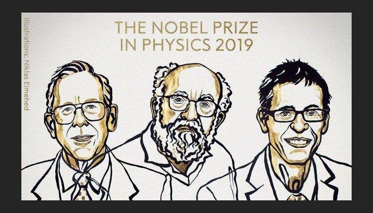 Нобелевская премия по физике за 2019 год присуждена Джеймсу Пиблсу, Мишелю Майору и Дидье Келосу