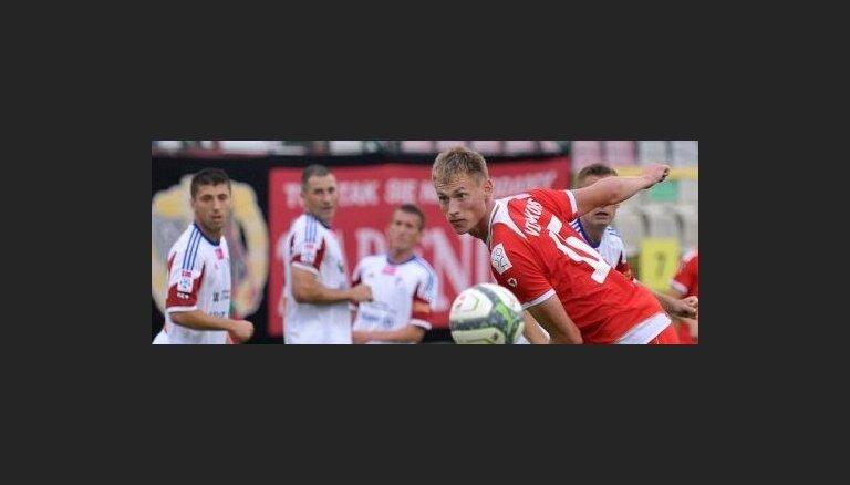 Футболист сборной Латвии сменил в Польше клуб