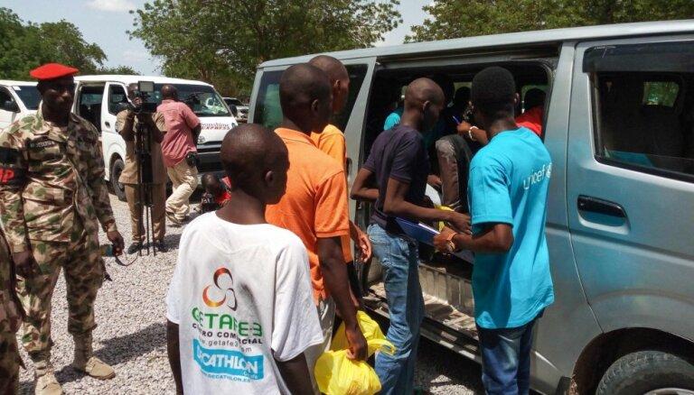 Nigērijas armija nodod ANO gandrīz 200 bērnus – kājniekus