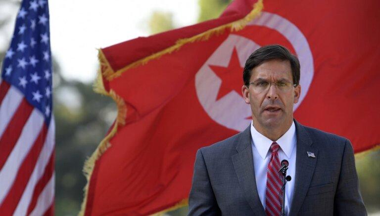 ASV un Tunisija paraksta sadarbības līgumu militārajā nozarē