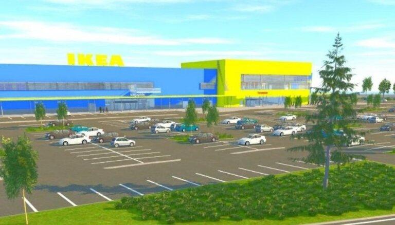 В Эстонии за 23 млн евро построят магазин IKEA