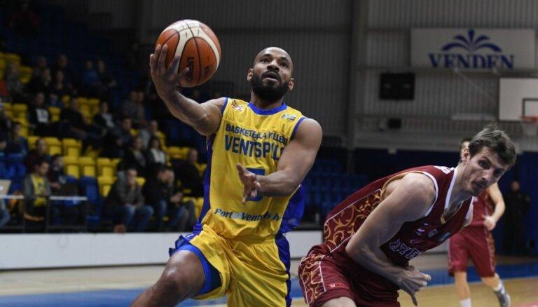 'Ventspils' uzvar pirmajā FIBA Čempionu līgas izslēgšanas turnīra mačā