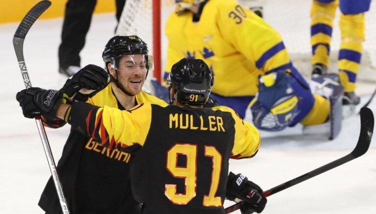 Сенсация в хоккее: немцы выбили шведов в четвертьфинале Олимпиады