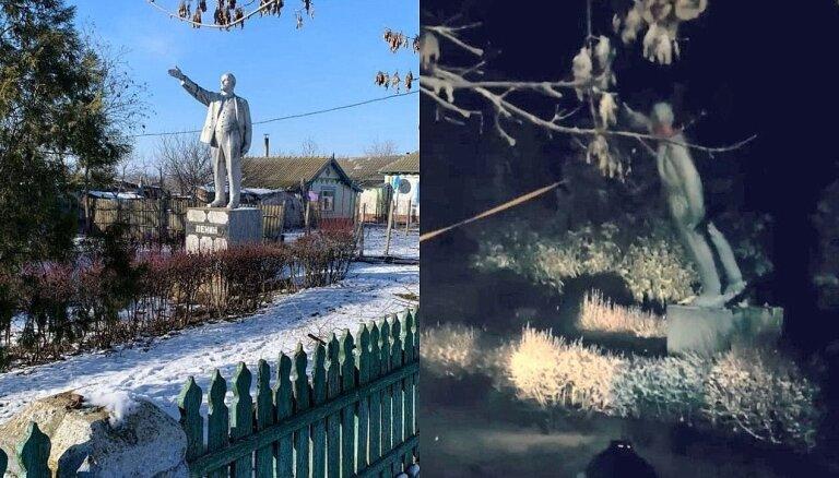 Ukrainas kontrolētajā teritorijā gāzts pēdējais ļenineklis