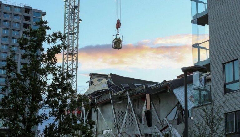 Antverpenē sagrūst skola celtniecības stadijā – viens bojāgājušais un pieci bezvēsts pazudušie