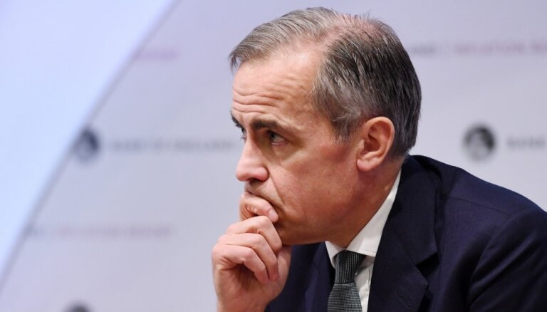 Lielbritānijas ekonomika nav gatava bezvienošanās 'Brexit', pauž Anglijas Bankas vadītājs