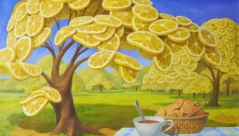 Kāda izskatītos pasaule, ja visur būtu pilns ar citroniem