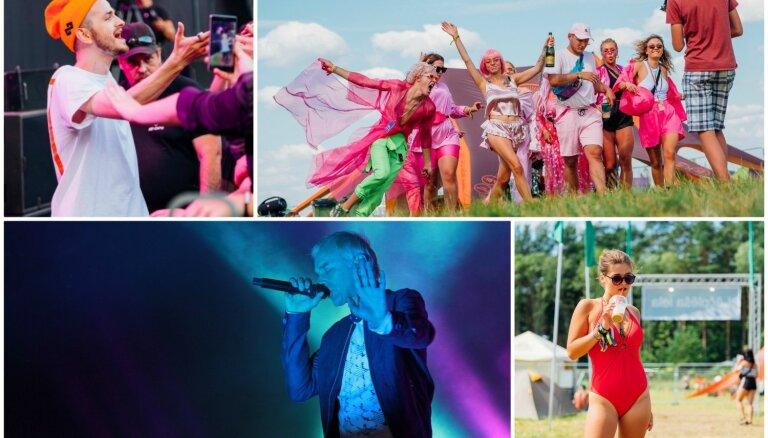 Foto: Festivālu vasaras kulminācija – 'Positivus' krāšņāko kadru izlase