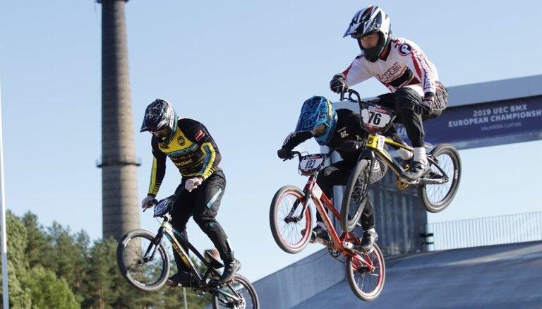 Valmierā gaidāmajā Eiropas BMX čempionātā lielākā konkurence elites grupā