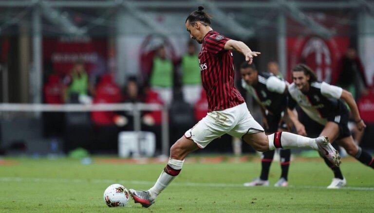 'Juventus' izlaiž pārsvaru un zaudē 'AC Milan'
