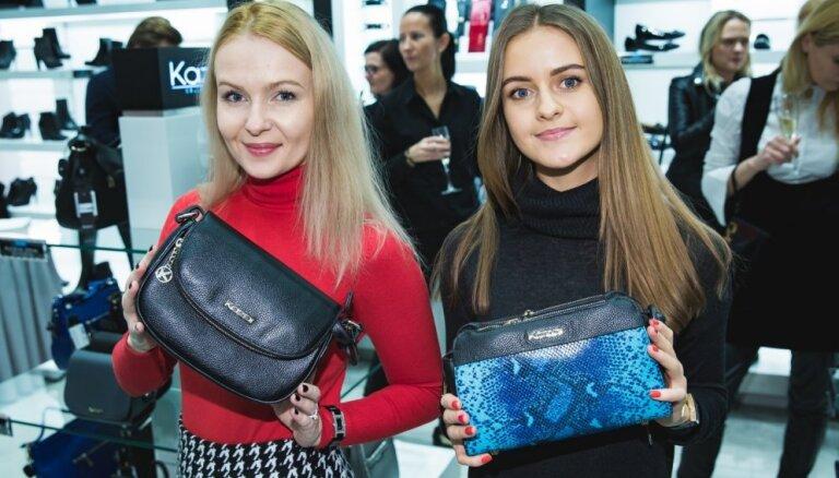 ФОТО: Стильные гости и модные сумочки на открытии нового магазина аксессуаров