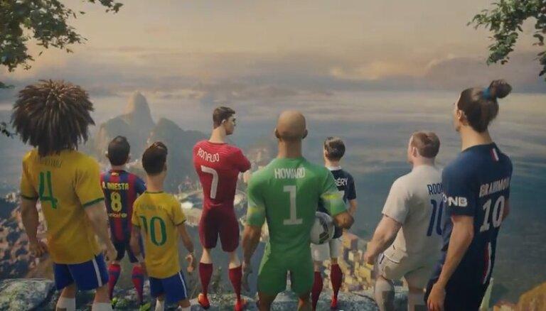 ВИДЕО: как звезды футбола стали героями мультфильма