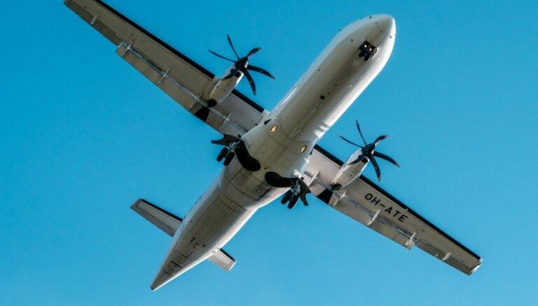Lidostā 'Rīga' tehnisku problēmu dēļ atgriezusies uz Helsinkiem lidojoša 'Finnair' lidmašīna