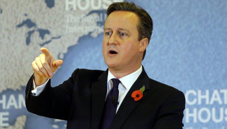 Кэмерон хочет ограничить свободу передвижения внутри ЕС