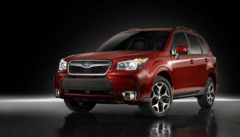 'Subaru' 30 gadus izlaiduši potenciāli bīstamas automašīnas