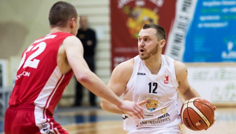 'Jēkabpils' basketbolisti BBL spēlē piedzīvo fiasko pret igauņu klubu TTU