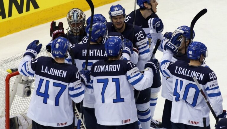 Somija atkal neielaiž Kanādu pasaules čempionāta pusfinālā