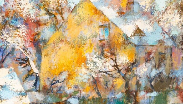 Notiks piektā 'Jāzepa Pīgožņa balvas Latvijas ainavu glezniecībā' izstāde