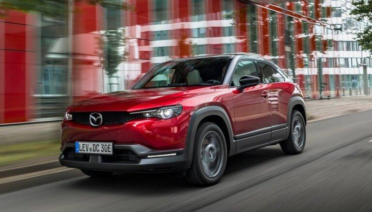 Pulksten 19.30 skaties 'Mazda MX-30' Latvijas pirmizrādes video tiešraidi