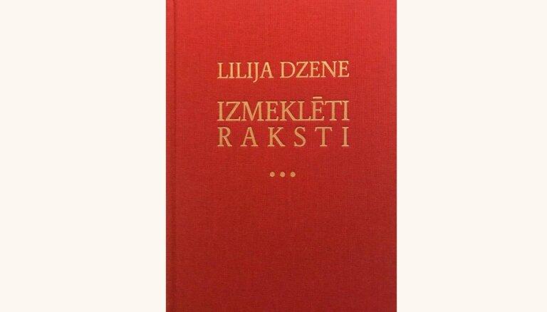 Iznākusi teātra zinātnieces Lilijas Dzenes rakstu izlase