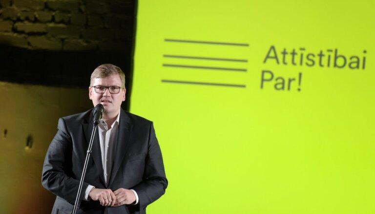 'Attīstībai/Par!' ietilpstošās partijas vēl pārdomās par kopīgu startu 14.Saeimas vēlēšanās
