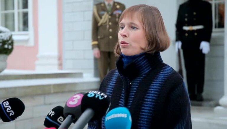 """Президент Эстонии заявила, что """"фашистов"""" в страну привозят по заказу Кремля"""
