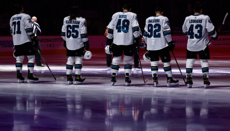 Pagrabam nolemtie? Girgensona, Balcera un Merzļikina klubus gaida sarežģīta NHL sezona