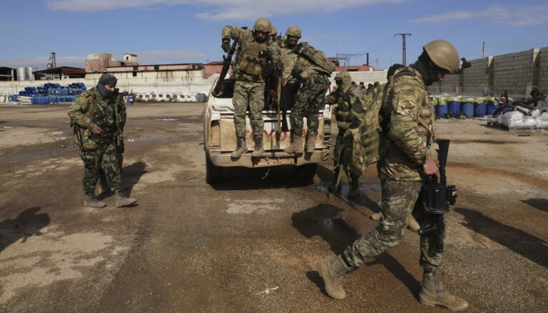 Турция заявила о начале военной операции против войск Асада в Сирии