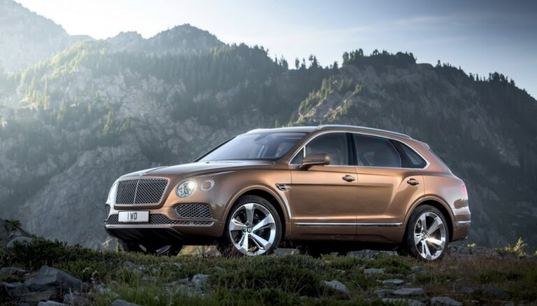 'Bentley' pirmais apvidus auto 'Bentayga'