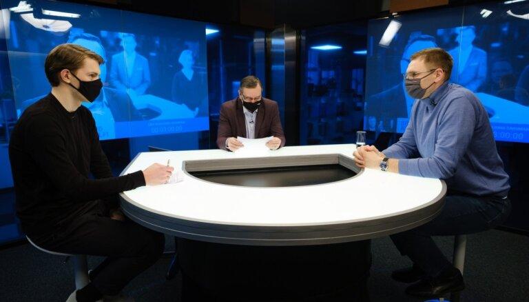 Izlases komplektēšana un 'karmiskais' mārketings – 'Spried ar Delfi' viesojas LBS ģenerālsekretārs Cipruss